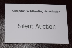 Clevedon Wildfowling Silent Auction Card